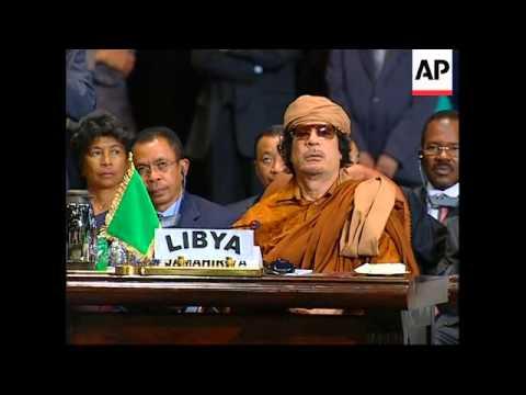 WRAP Opening of AU summit, Mugabe, UN s'bite,  AU s'bite