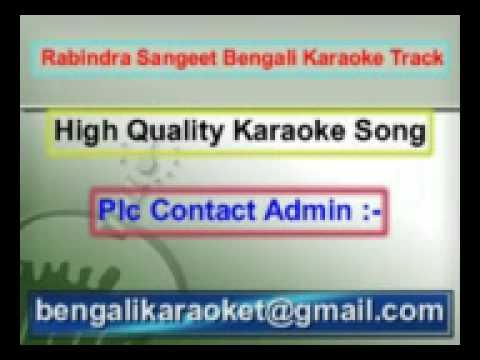 Mono Mor Meghero Songi Karaoke Rabindra Sangeet