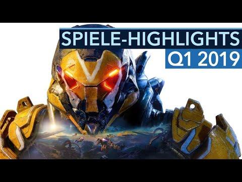 Top 10: Neue Spiele von Januar bis März 2019 für PC PS4 & Xbox One - Game-Highlights 2019