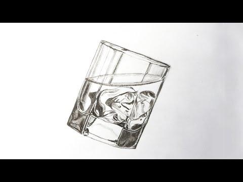 Видео как нарисовать лед карандашом