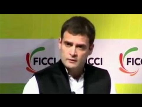 The Rahul Gandhi FICCI speech that Jayanthi Natarajan wrote about in letter