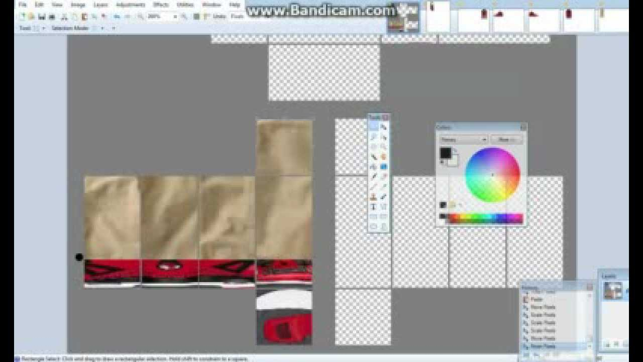 how to make shoes on roblox  part 3