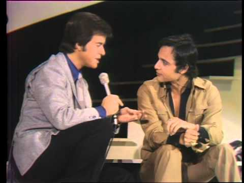 Dick Clark interviews Sal Mineo on the TV series The Rock N Roll Years in 1974. They discuss his career in the entertainment business.