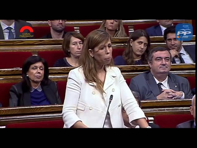 """PPC - Sánchez-Camacho a Mas: """"Lo que propone es un ejercicio de suspensión de la democracia"""""""