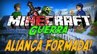 Minecraft Guerra 5: ALIANÇA FORMADA! #2