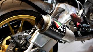 BMW S1000RR Austin Racing GP2R Slip-on Exhaust By MOTO Instinct