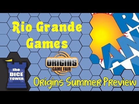 Origins Summer Preview: Rio Grande Games