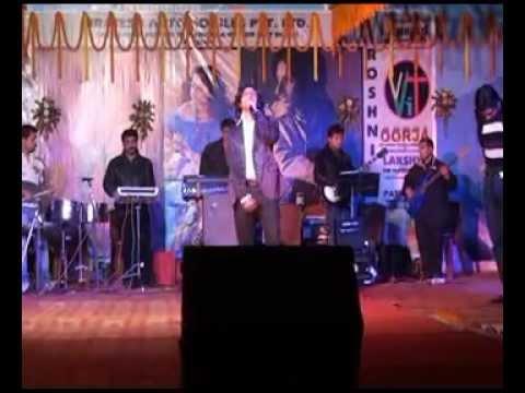 Woh Kisna hai by Amit Sasna Live In Concert VVITPurnea Bihar...