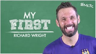 'I GAVE AWAY TWO PENALTIES & SCORED ONE!' Richard Wright | My Firsts