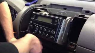 2006 Nissan Xterra How to Remove Stereo Radio DIY dash frontier