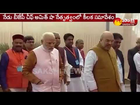Amit Shah to Chair BJP Meeting Today