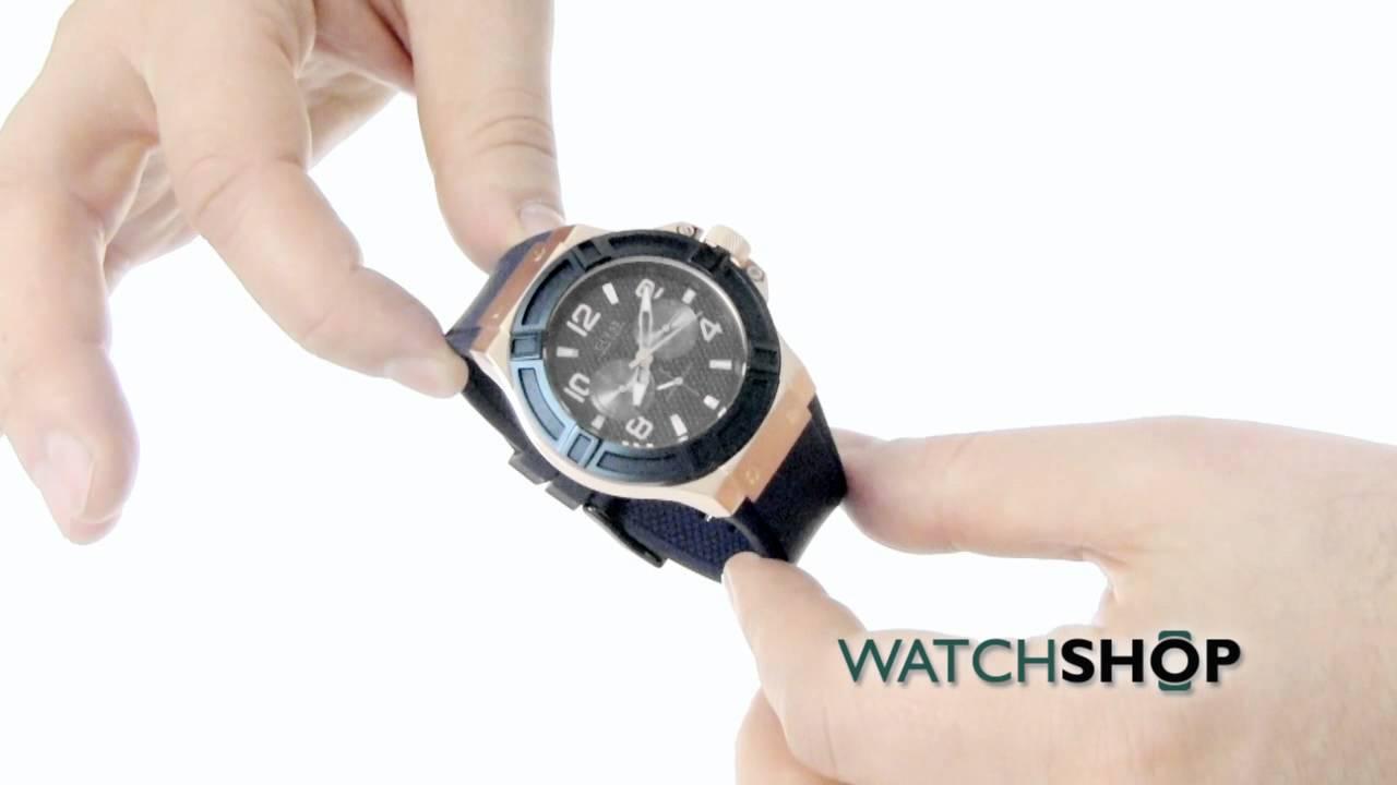 Guess Men Watches Men's Guess Rigor Watch