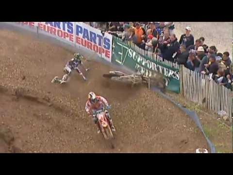 MX GP of France 2012, Herlings vs Tonus