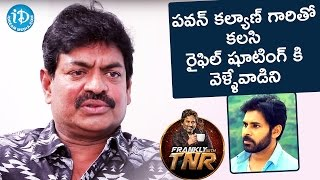 Sivaji Raja About Pawan Kalyan || Frankly With TNR || Talking Movies With iDream