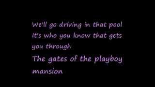 Watch U2 Playboy Mansion video