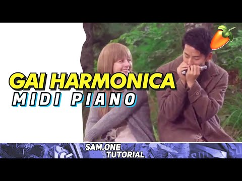 Short Midi Piano - Ultraman Orb Gai Harmonica ( Toku Dalam Nada )