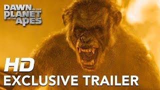 Dawn of the Planet of the Apes | Official Trailer #3 HD | 2014