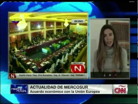 MERCOSUR: Dra Tamara  Chomont en CNN Mirador Mundial con Guillermo Arduino
