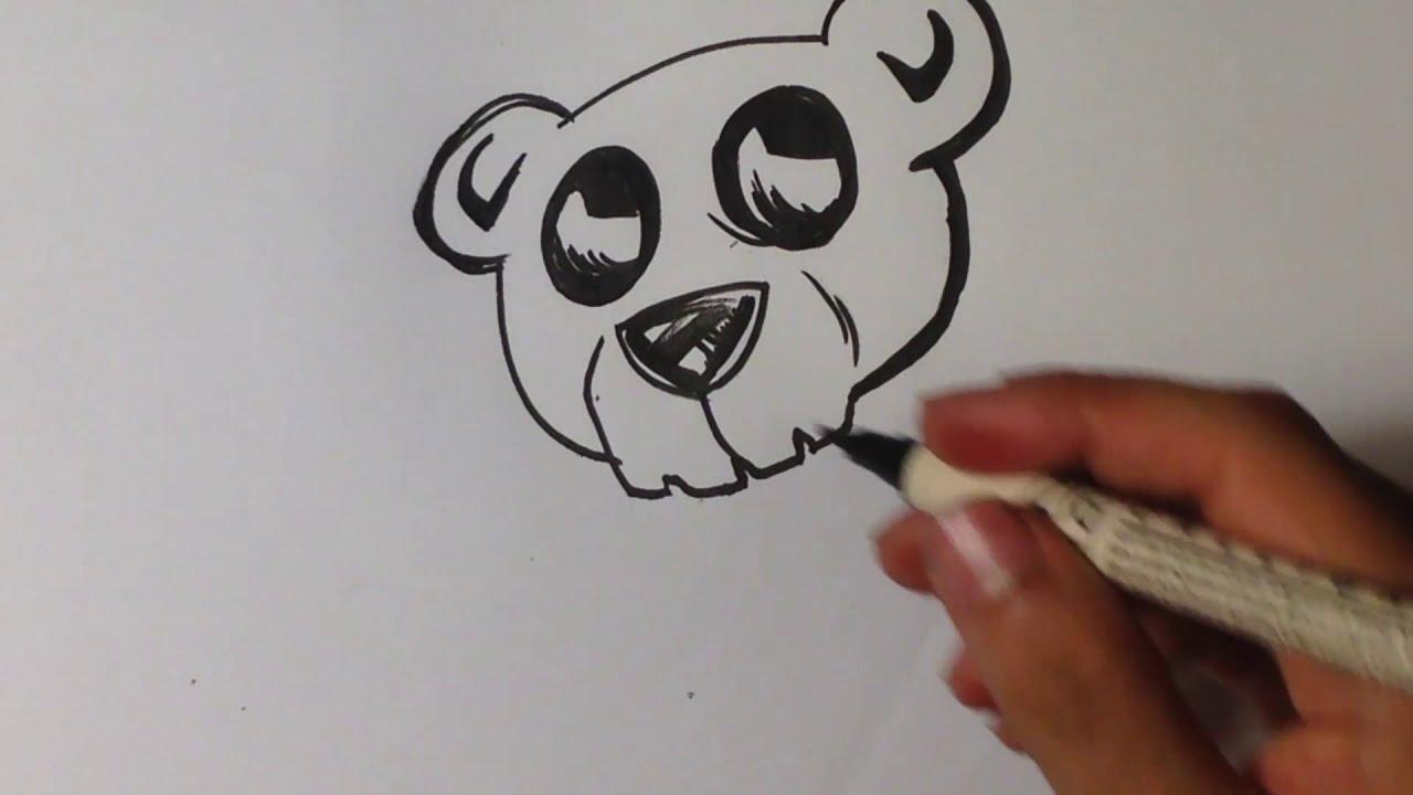 Teddy Bear Skull Drawing Drawing a Teddy Bear Skull