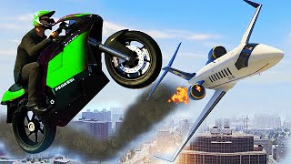 SICK GTA 5 STUNTS & FAILS! (GTA V STUNTS)