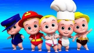 Cinque piccoli bambini   Filastrocche   Canzoni per bambini   Five Little babies   Nursery Rhymes