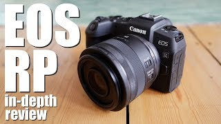 Canon EOS RP review IN DEPTH! lower-cost full-frame