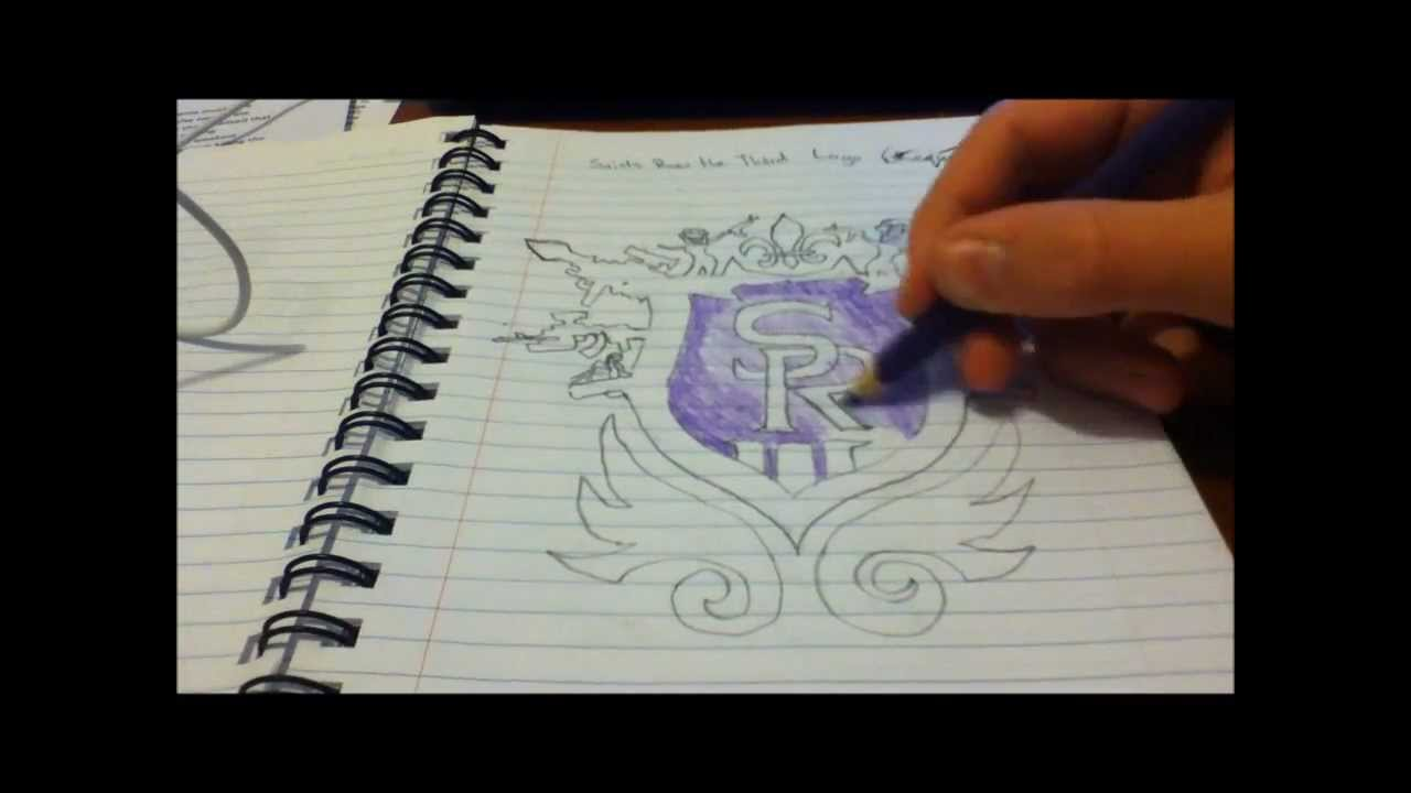Saints Symbol Drawing How to Draw Saints Row The