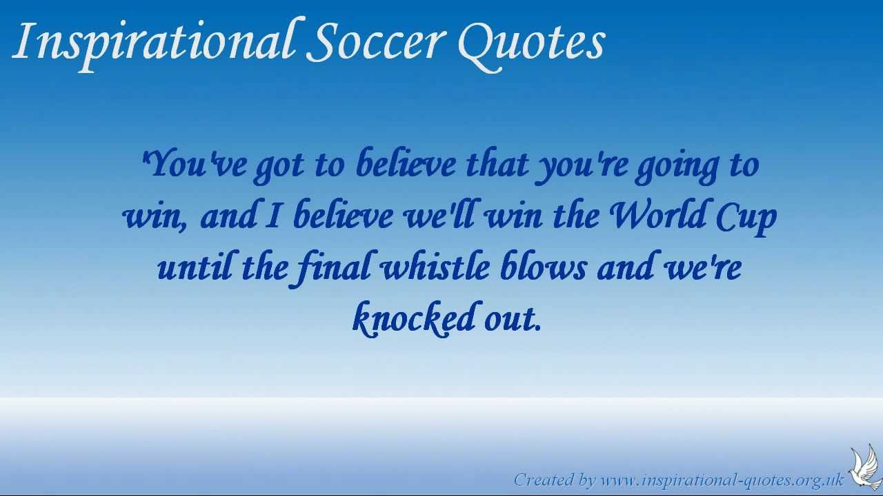 Inspirational soccer quotes mia hamm