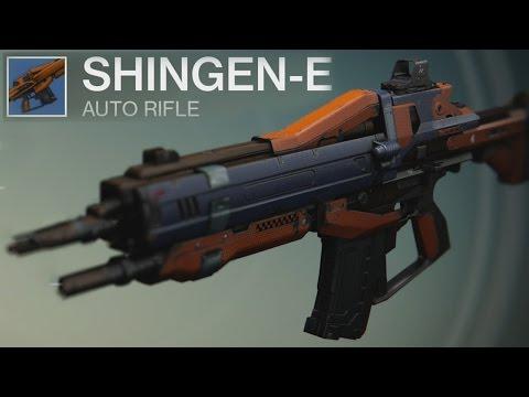 Destiny Shingen-E Auto Rifle Review | Best PVP Rare?
