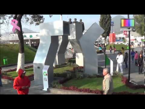 Inauguran jard n del centro hist rico de san crist bal for Jardin 7 hermanos ecatepec
