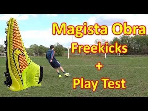 Nike Magista Obra Review - Freekicks + Play Test