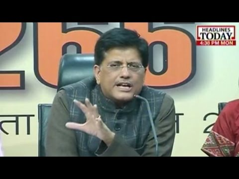 Piyush Goyal and Nirmala Sitharaman question AAP's funding