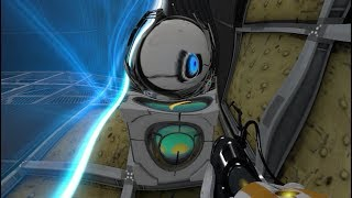 Two dudes traped by themself with no scape in Portal 2 (A L M O S T  D I E)