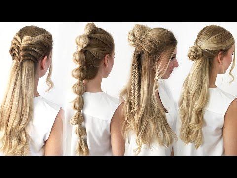 Frisuren Fur Lange Haare Selber Machen Flaconi