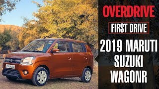 2019 Maruti Suzuki WagonR | First Drive | OVERDRIVE