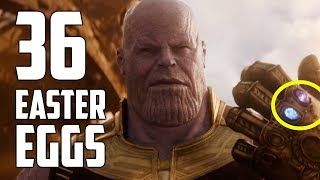 Avengers: Infinity War Trailer Breakdown - All the Easter Eggs and Secrets
