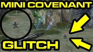 Halo 4 - Mini Covenant GLITCH on Spartan Ops