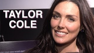 Taylor Cole on her Steamy Scene with a Guy and a Girl in