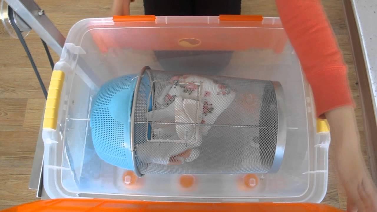 Ez Laundry ( Washer machine without electricity) - YouTube