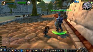 Classic World of Warcraft - Guard is Acting Rather Strange!