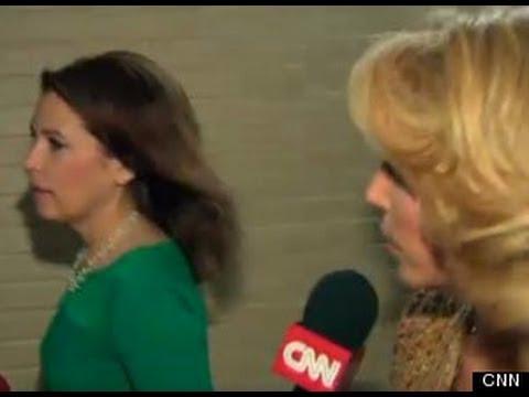 Michele Bachmann Runs Away from Reporter
