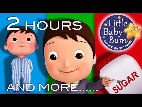 Johny Johny Yes Papa | 2 HOURS of Nursery Rhyme Videos from LBB!