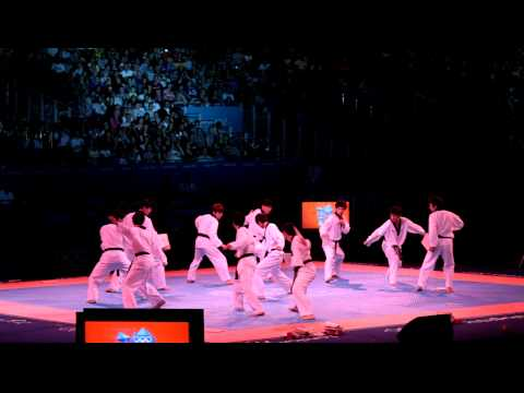 WTF Taekwondo Presentation Team at London 2012 Olympics