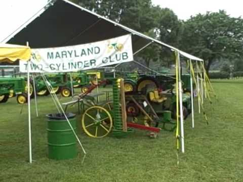 Maryland Two Cylinder Club At The Carroll County Farm Museum