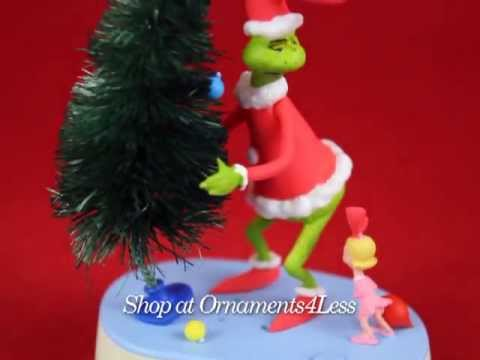 Hallmark Ornament The Grinch Why Are You Stealing Our Christmas Tree? - Shop at Ornaments4Less!