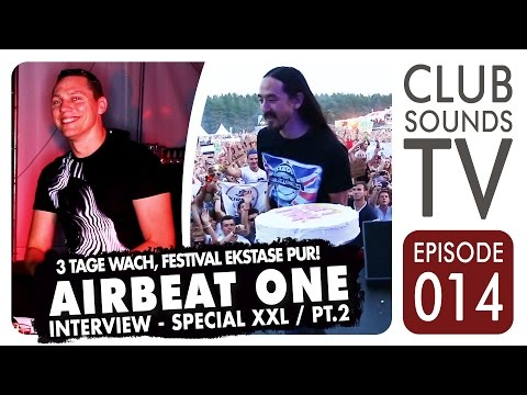 Club Sounds TV 014 ►TIESTO, THOMAS GOLD, DON DIABLO, JEWELZ & SPARKS @ AIRBEAT ONE 2014 – TEIL 2◄