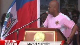 VIDEO: Haiti - Diskou President Martelly nan Inogirasyon Place Sainte-Anne
