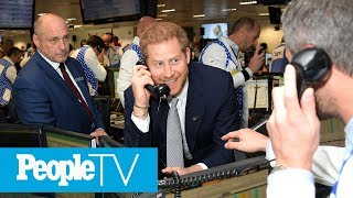 Prince Harry Takes To Trading Floor Phones For Annual Charity Event Honoring 9/11 Victims | PeopleTV