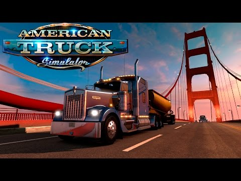 Прохождение American Truck Simulator | Привет Америка! | #1