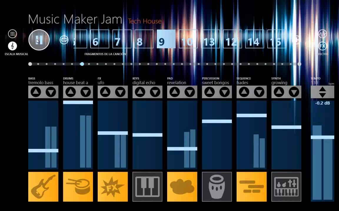 Music maker jam 39 39 hades 39 39 canci n electro house for House music maker